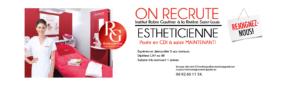 Esthéticienne recrutement RG